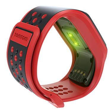TomTom Multi-Sport Cardio Rouge/Noir + HRMC + CSS + AM pas cher