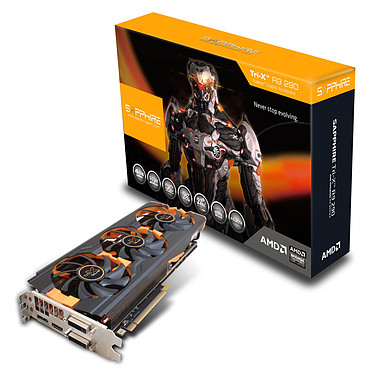 Sapphire Radeon R9 290 4G GDDR5 Tri-X OC (UEFI) - New Edition 4 Go Dual DVI/HDMI/DisplayPort - PCI Express (AMD Radeon R9 290)