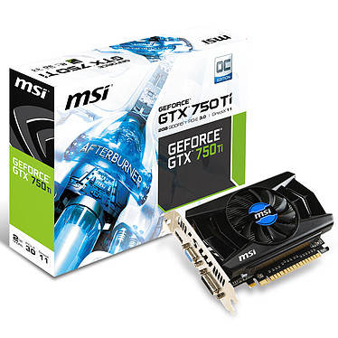 MSI GeForce GTX 750 Ti OCV1 2GB