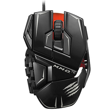 Mad Catz R.A.T. M.M.O. TE (RAT MMO TE) Gloss Black