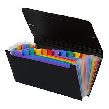 Viquel Rainbow Class Trieur au format chèque 26 x 13 cm 12 compartiments Trieur format chèque - 26 x 13 cm - 12 compartiments - fermeture élastique