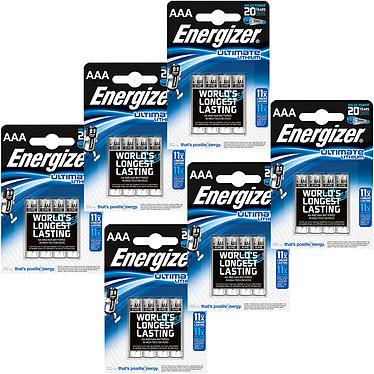 Energizer Ultimate Lithium AAA (24 unidades) Pack de 24 pilas AAA (LR03) de litio, alto rendimiento
