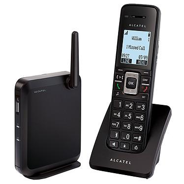 Alcatel Temporis IP2015 Teléfono inalámbrico con base para VoIP compatible con SIP