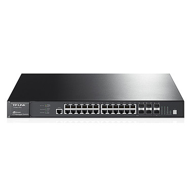 TP-LINK JetStream T3700G-28TQ Switch 28 ports Gigabit stackable de niveau 3