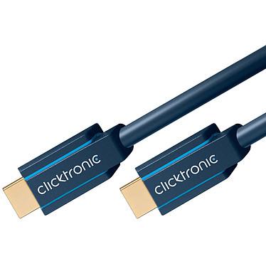 Avis Clicktronic câble High Speed HDMI with Ethernet (3 mètres)