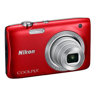 Nikon Coolpix S2900 Rouge  Appareil photo 20.1 MP - Zoom grand-angle 5x - Vidéo HD
