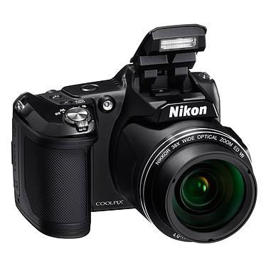 Nikon Coolpix L840 Noir  Appareil photo 16 MP - Zoom grand-angle 38x - Vidéo Full HD - Wi-Fi et NFC