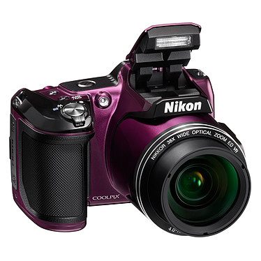 Nikon Coolpix L840 Violet  Appareil photo 16 MP - Zoom grand-angle 38x - Vidéo Full HD - Wi-Fi et NFC