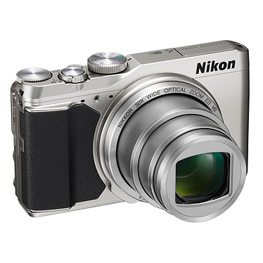 Nikon Coolpix S9900 Argent  Appareil photo 16 MP - Zoom optique 30x - Vidéo Full HD - Wi-Fi - NFC et GPS