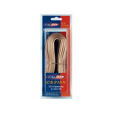 Caliber CS215X Cable del altavoz - 10m (CCA) - 2x1,5mm2