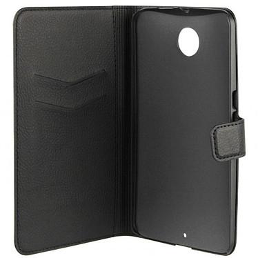 xqisit Etui Wallet Slim Noir pour Motorola Nexus 6
