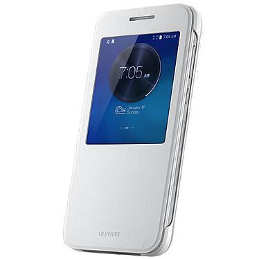 Huawei Etui Flip View pour Ascend G7 Blanc