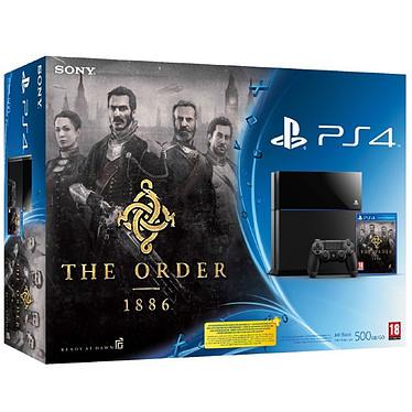 Sony PlayStation 4 + The Order : 1886 Console de jeux-vidéo nouvelle génération avec disque dur 500 Go + jeu