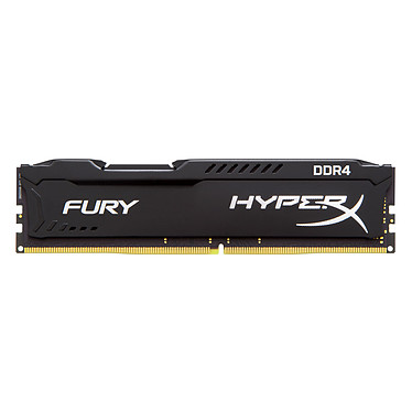 Acheter HyperX Fury Noir 16 Go (4x 4 Go) DDR4 2400 MHz CL15