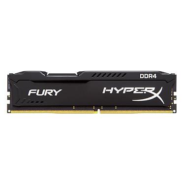 Acheter HyperX Fury Noir 16 Go (4x 4 Go) DDR4 2666 MHz CL13