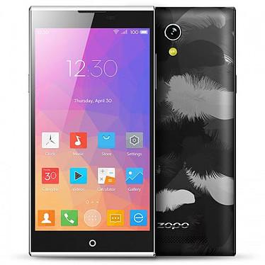 """Zopo ZP920 Noir Smartphone 4G-LTE Dual SIM avec écran tactile 5.2"""" sous Android 4.4"""