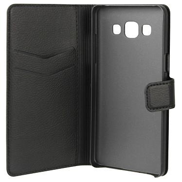 xqisit Etui Wallet Noir Samsung Galaxy A3