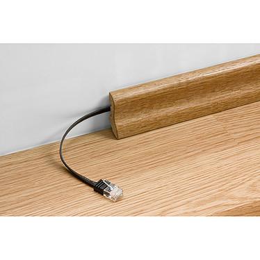 Comprar Cable RJ45 plano de categoría 6 U/UTP 0,5 m (blanco)