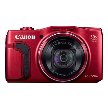 Canon PowerShot SX710 HS Rouge  Appareil photo 20 MP - Zoom ultra grand-angle 30x - Vidéo Full HD - HDMI - Wi-Fi et NFC