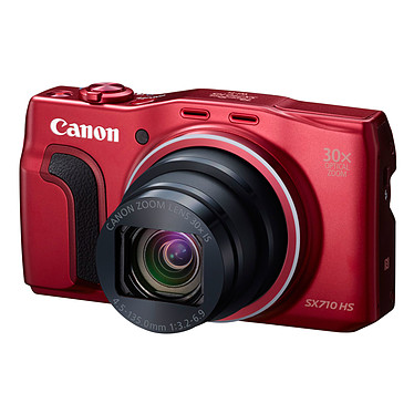 Avis Canon PowerShot SX710 HS Rouge