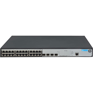 HP 1920-24G-PoE+ (370 W)   Switch 24 ports PoE+ 10/100/1000 Mbps + 4 ports SFP 1000 Mo/s