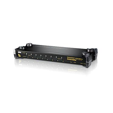 Aten CS1758 USB - Multiplexor KVM PS/2 de 8 puertos VGA con audio.