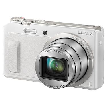 Panasonic DMC-TZ57 Blanc  Appareil photo 16 MP - Zoom optique 20x - Vidéo Full HD - Wi-Fi