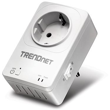 TRENDnet Home smart switch THA-101 Répéteur Wi-Fi N300 + Interrupteur électrique contrôlable à distance (compatible Android et iOS)