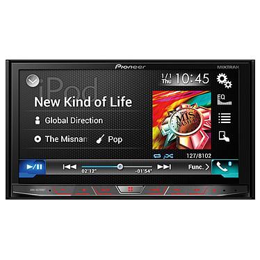 """Pioneer AVH-X8700BT Radio de coche CD/DVD/DivX MP3 con pantalla táctil de 7"""", control de iPod/iPhone, Apple CarPlay, USB, HDMI, Bluetooth, Android Auto, AppRadio y MirrorLink"""
