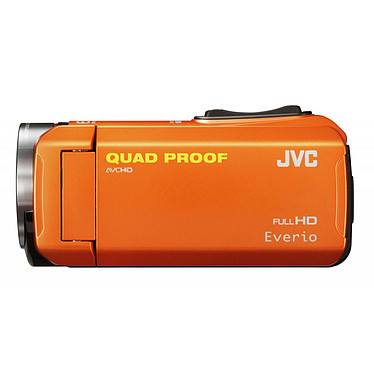Avis JVC GZ-R315 Orange + Carte SD 8 Go