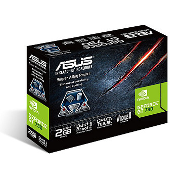 ASUS GT730-2GD5-BRK - GeForce GT 730 2 Go · Occasion pas cher