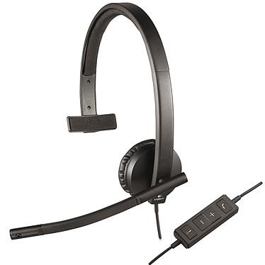 Logitech USB Headset Mono H570e Casque-micro mono filaire
