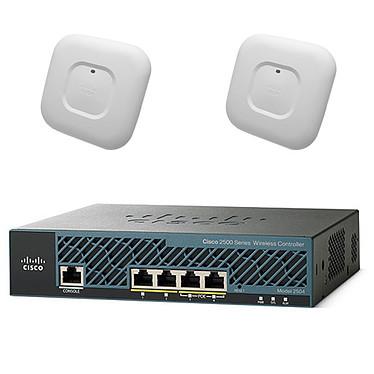 Cisco Mobility Express Aironet 1700 Pack de 1 x Cisco contrôleur 2504, 2 x  Cisco Aironet AP 1700 et 25 Licences de points d'accès