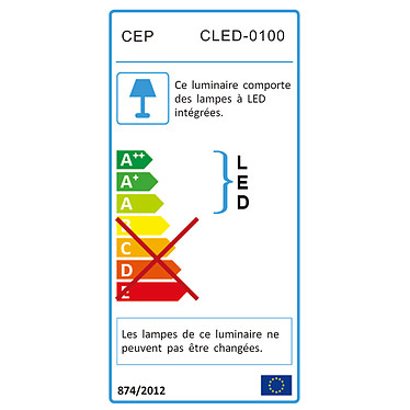 Acheter CEP Lampe LED CepPro 100 Taupe