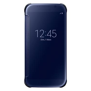 Samsung Clear View Cover Noir Galaxy S6 Edge