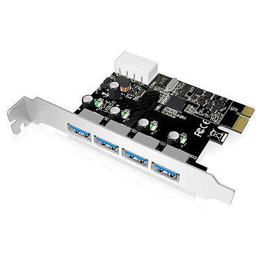 ICY BOX IB-AC614a Carte PCI Express avec 4 ports USB 3.0
