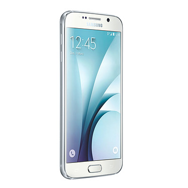 "Samsung Galaxy S6 SM-G920F Blanc 32 Go Smartphone 4G-LTE Advanced - Exynos 7420 8-Core 2.1 Ghz - RAM 3 Go - Ecran tactile 5.1"" 1440 x 2560 - 32 Go - NFC/Bluetooth 4.0 - 2550 mAh - Android 5.0"