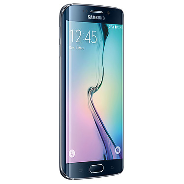 "Samsung Galaxy S6 Edge SM-G925F Noir 64 Go Smartphone 4G-LTE Advanced - Exynos 7420 8-Core 2.1 Ghz - RAM 3 Go - Ecran tactile 5.1"" 1440 x 2560 - 64 Go - NFC/Bluetooth 4.1 - 2600 mAh - Android 5.0"