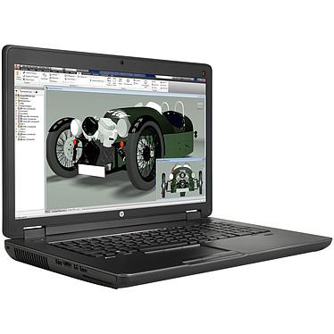 "HP ZBook 17 G2 (J8Z35ET) Intel Core  i7-4710MQ 4 Go 500 Go 17.3"" LED HD+ NVIDIA Quadro K1100M Graveur DVD Wi-Fi N/Bluetooth Webcam Windows 7 Professionnel 64 bits + Windows 8.1 Pro 64 bits"
