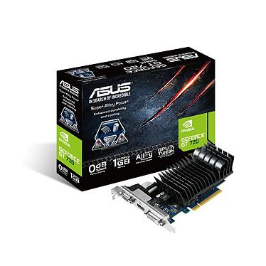 ASUS GeForce GT 720  GT720-SL-1GD3-BRK 1 Go HDMI/DVI - PCI Express (NVIDIA GeForce avec CUDA GT 720)