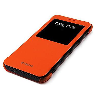 Zopo Flip Cover ZP999 Orange Etui Folio pour Zopo ZP999