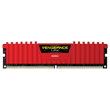 Corsair Vengeance LPX Series Low Profile 8 Go DDR4 2400 MHz CL16 RAM DDR4 PC4-19200 - CMK8GX4M1A2400C16R (garantie à vie par Corsair)