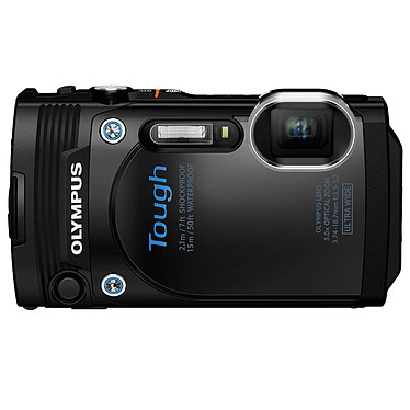 Olympus TG-860 Noir Appareil photo baroudeur 16 MP - Zoom grand-angle 5x - Vidéo Full HD 1080p - Wi-Fi