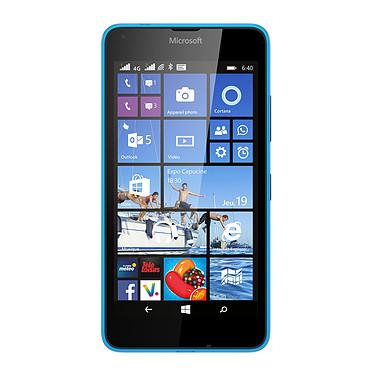"Microsoft Lumia 640 Dual SIM Cyan Smartphone 4G-LTE Dual SIM avec écran tactile HD 5"" sous Windows Phone 8.1"