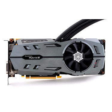 Inno3D iChill GeForce GTX 980 4GB Black Series 4096 Mo DVI/HDMI/Tri DisplayPort - PCI Express (NVIDIA GeForce avec CUDA GTX 980) - Refroidissement hybride