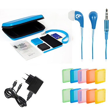 Under Control Deluxe Pack (Nintendo New 3DS XL) Bleu Pack d'accessoires 10 en 1 pour Nintendo New 3DS XL