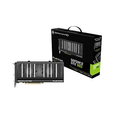 Gainward GeForce GTX 960 Phantom 4096 MB 4096 Mo Dual DVI/HDMI/DisplayPort - PCI Express (NVIDIA GeForce avec CUDA GTX 960)
