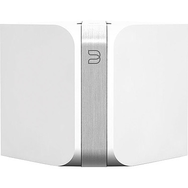 Bluesound Node Blanc Système audio Wi-Fi/Ethernet pour Streaming audio, Web radio et Podcast