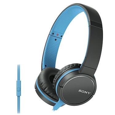 Sony MDR-ZX660AP Bleu Casque supra-auriculaire fermé compatible smartphone