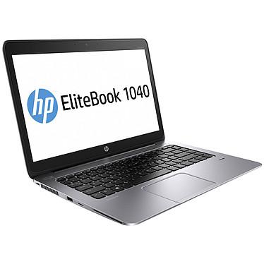 "HP EliteBook Folio 1040 G2 (L8T44EA) Intel Core i5-5200U 4 Go SSD 256 Go 14"" LED Full HD Wi-Fi AC/Bluetooth/3G Webcam Windows 7 Professionnel 64 bits + Windows 8.1 Pro 64 bits"